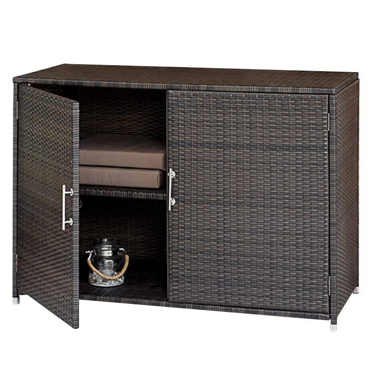 konsolenschrank kay polyrattan braun moebel. Black Bedroom Furniture Sets. Home Design Ideas