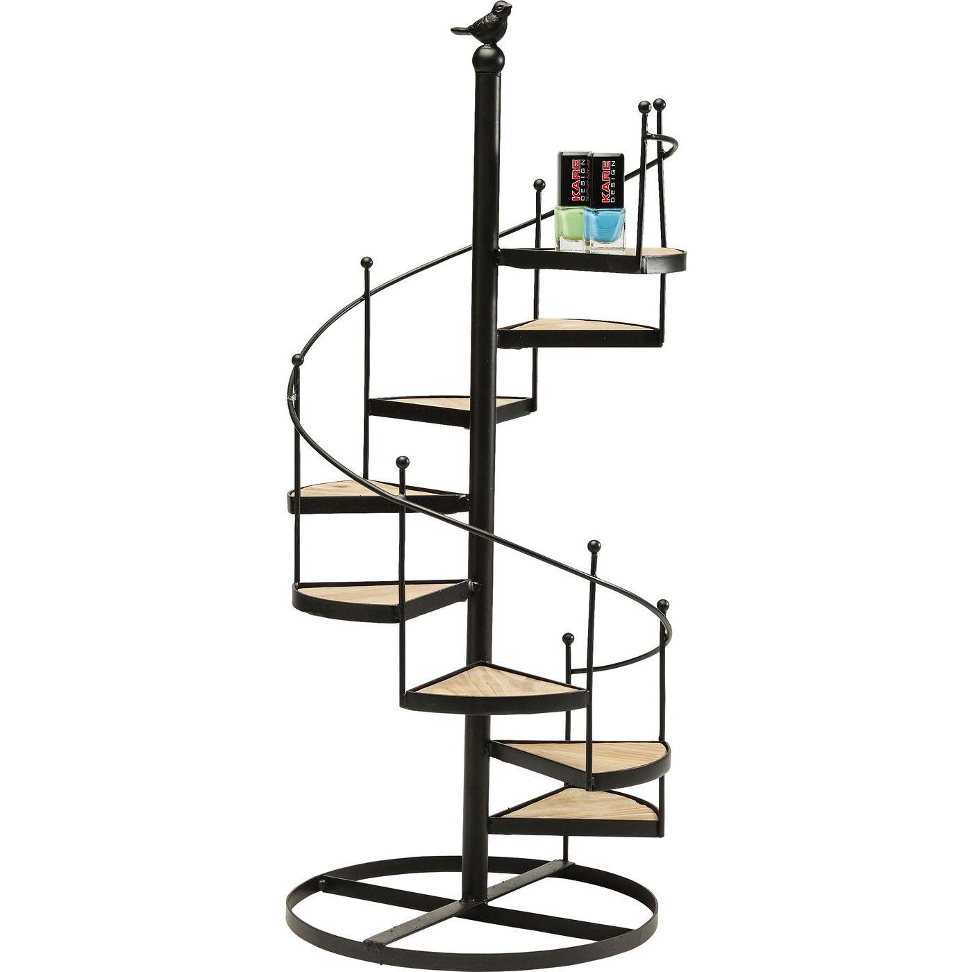 deko treppe spiral 57cm moebel. Black Bedroom Furniture Sets. Home Design Ideas